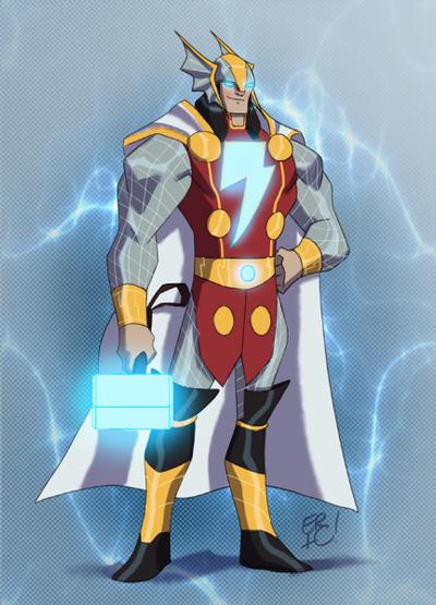 Thunder God by EricGuzman