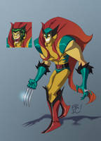 The Creeping Wolverine by EricGuzman