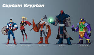 Captain Krypton Line Up