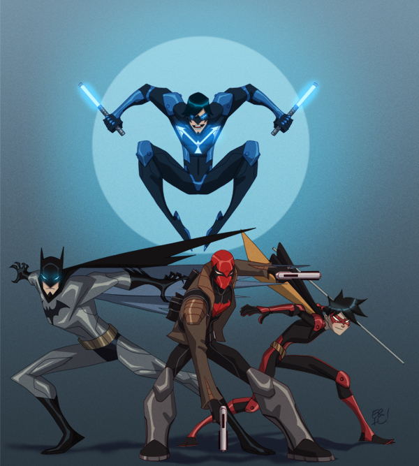 The Bat Family by EricGuzman