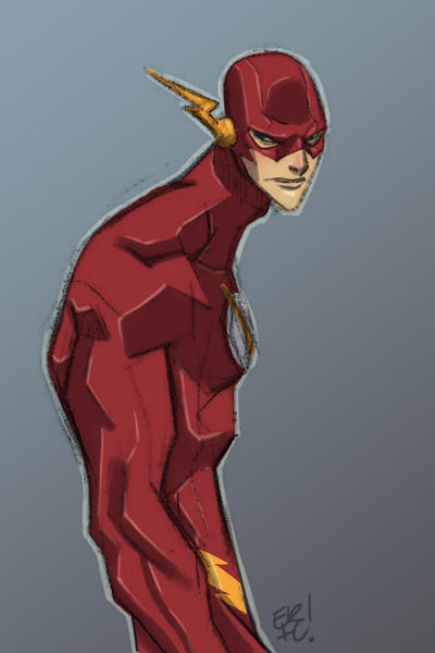 The Flash Sketch by EricGuzman