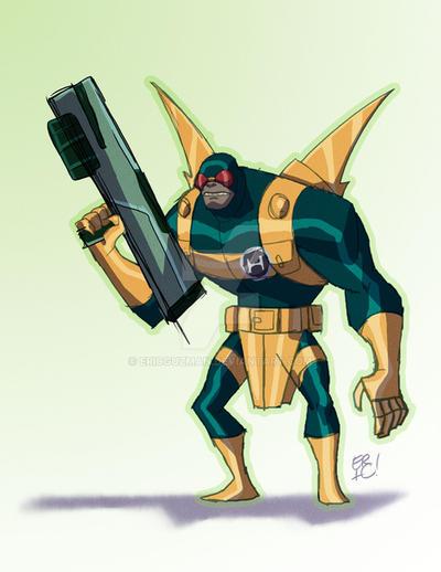 Para-Hydra Demon by EricGuzman