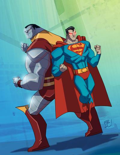 Men of Steel by EricGuzman