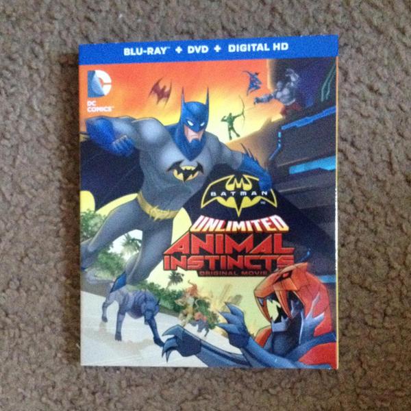 Batman Unlimited: Animal Instincts by EricGuzman