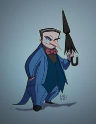 Spider-Bat Hammerhead Penguin by EricGuzman