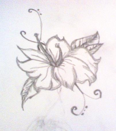 Flower tattoos x x dainty flower design x x flower tattoo for Dainty flower tattoos