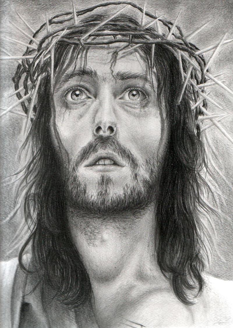 Pencil drawings jesus pencil drawings