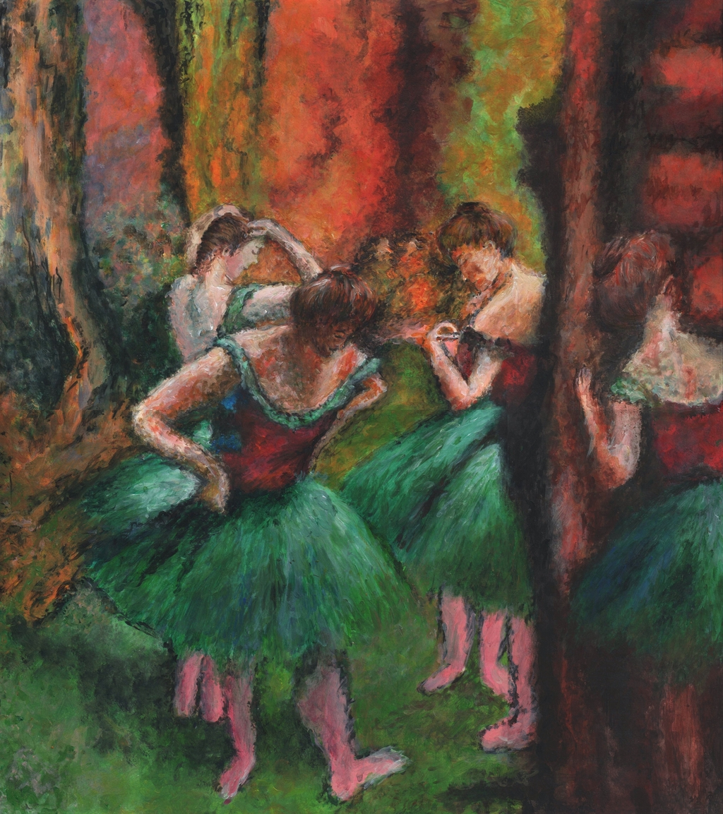 an analysis of double images and distortion on degas paintings Paedophile seeking release from jail unwilling to and he doesn't appreciate he is a man with distorted sexual degas painting stolen in 2009 found in.