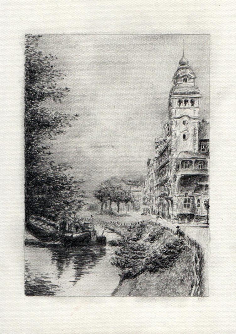 Bydgoszcz Old Channel by AnnaSulikowska