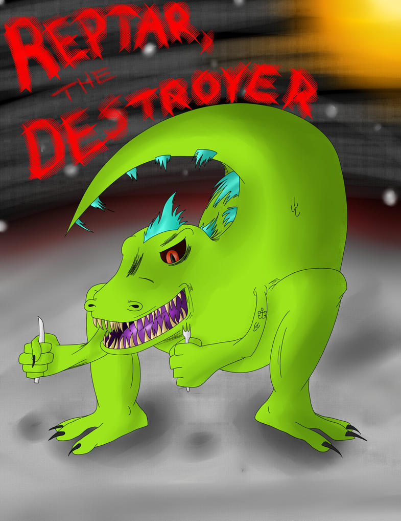 Reptar, the Destroyer by D5697