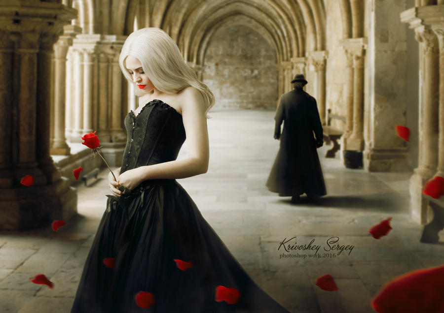 Farewell Rose by sergekrivoshei