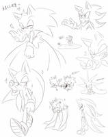 Stupid scribbling by SINO326