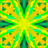 Green and Yellow Pattern by RandomDesigner