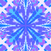Blue, Purple and White Pattern by RandomDesigner