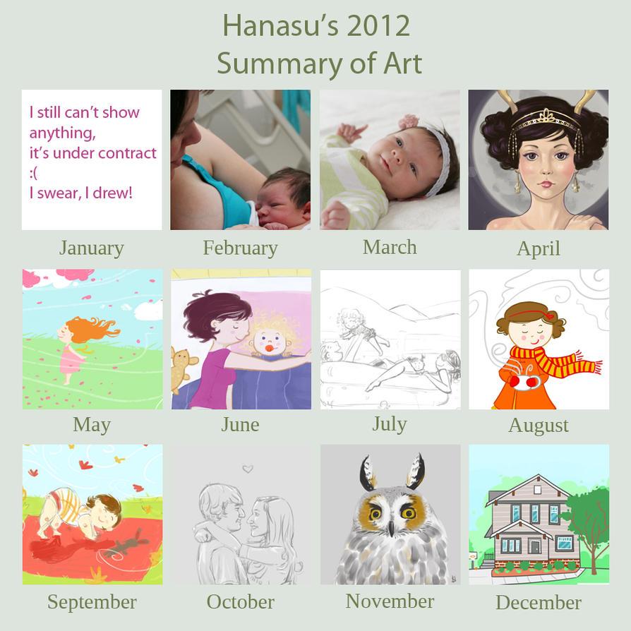 2012 Art Summary by Hanasu