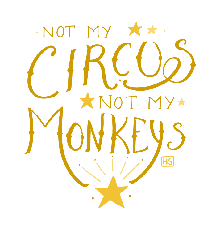 Not My Monkeys by Hanasu