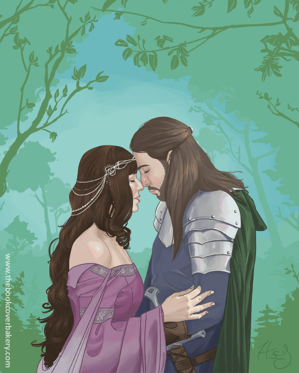 Beren And Luthien by Hanasu