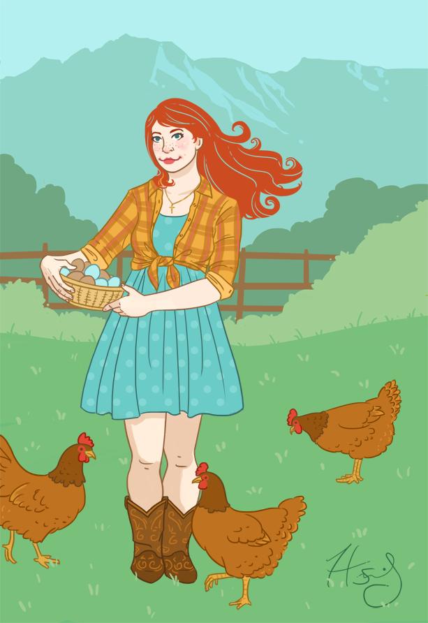 Farm Girl by Hanasu