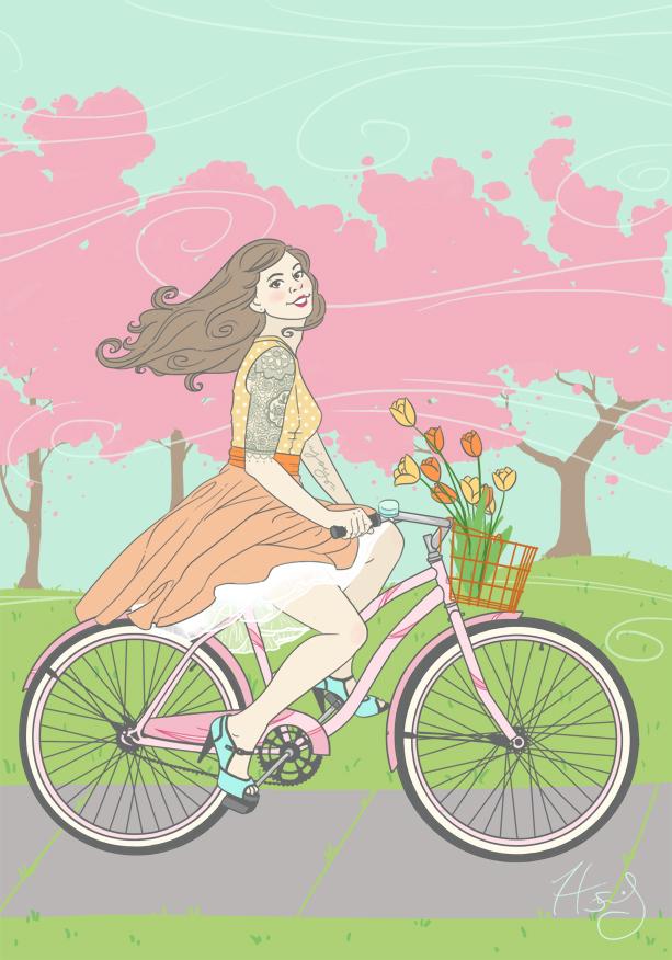 Spring Ride by Hanasu