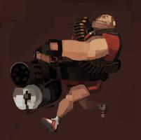 Heavy's Shorts by michaelfirman