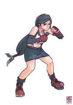 Tifa of Final Fantasy 7