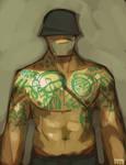TF2 Soldier Tattoo'd by michaelfirman