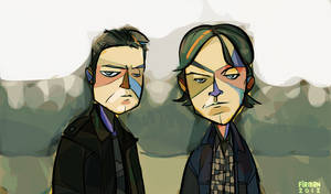 Supernatural - The Winchester Bros