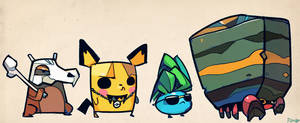 Pokemontourage