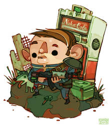Fallout 3 Dude by michaelfirman