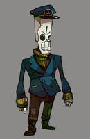 Captain Manny Calavera - Grim Fandango by michaelfirman