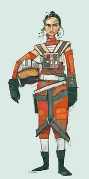 Rebel Pilot Rey