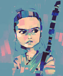 Rey-a-Day 41 by michaelfirman