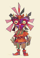 Skull Kid by michaelfirman