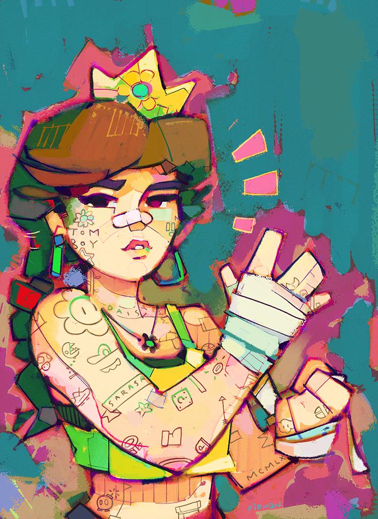 Princess Daisy by michaelfirman