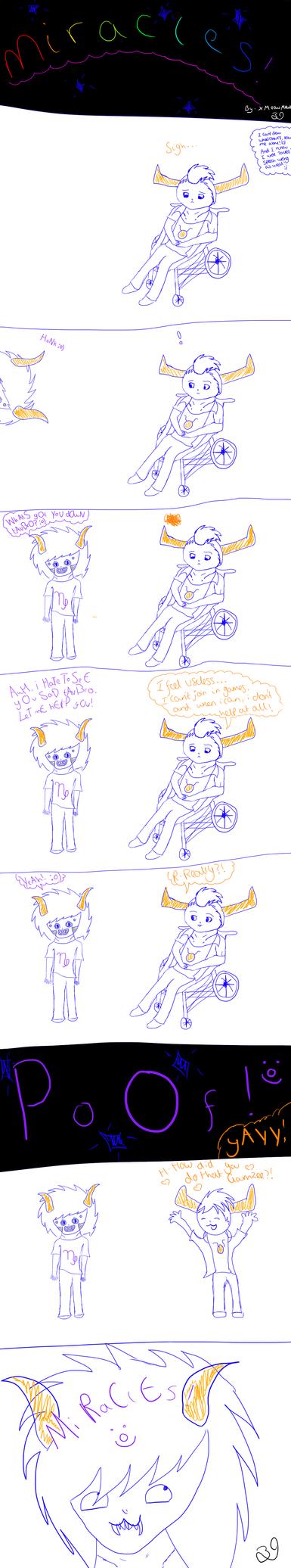 Miracles! (Homestuck Comic) by XMeowMewX