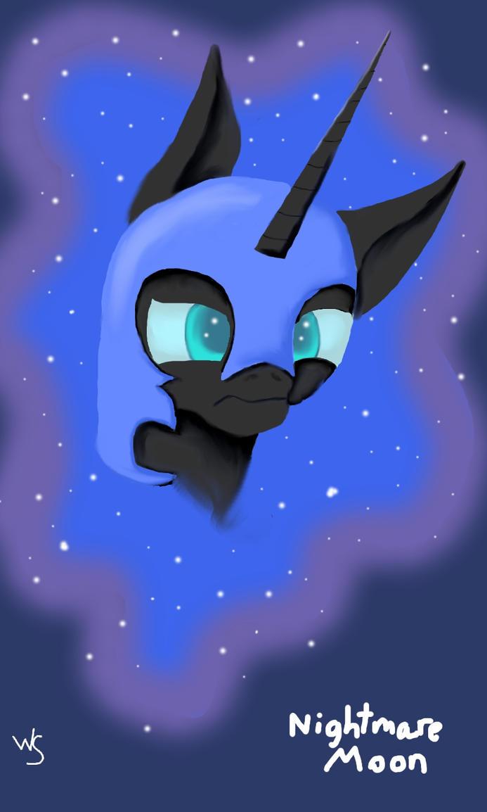 Nightmare Moon by Winter-Sky529
