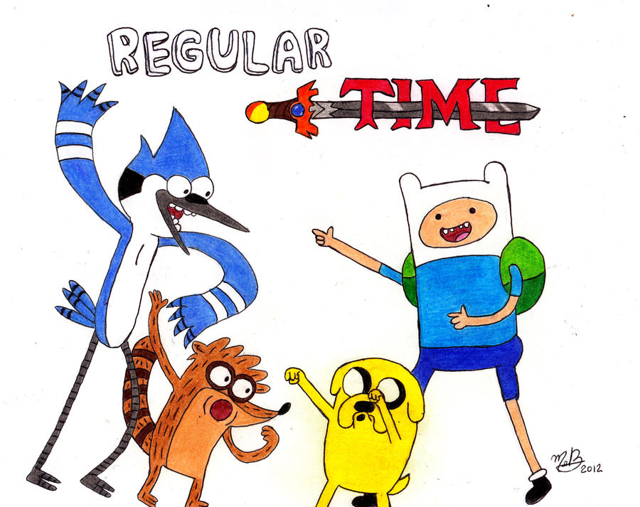 Regular Time! by MelanieBrown