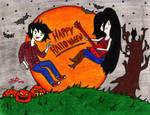Marcelee Halloween! by MelanieBrown