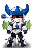Mad chibi Megatron Energon by JinoSan