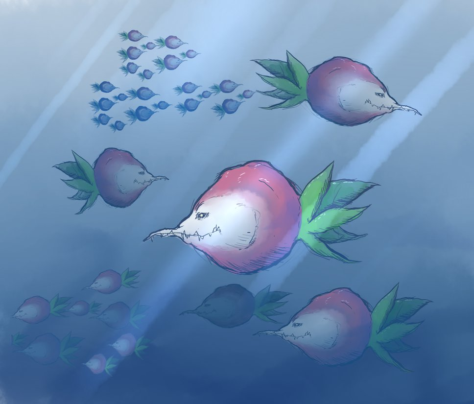 Turnip Fish By Thefaceinthetree-d84wds2 by ScytheVale