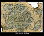 Anchrons: Map of Wintry O' willow by ScytheVale