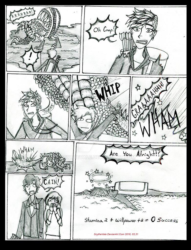 Wod: Unlucky Cain by ScytheVale