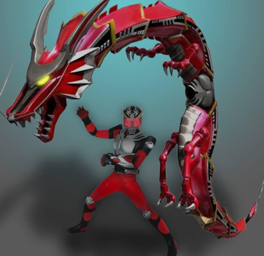 Kamen Rider Ryuki - Final Vent by KYQ on DeviantArt
