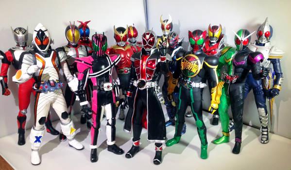 Medicom Heisei Kamen Riders