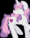 Sweetie Belle grown up pixel