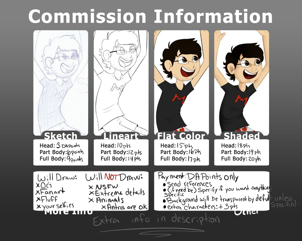 Commission Info by TangyTart