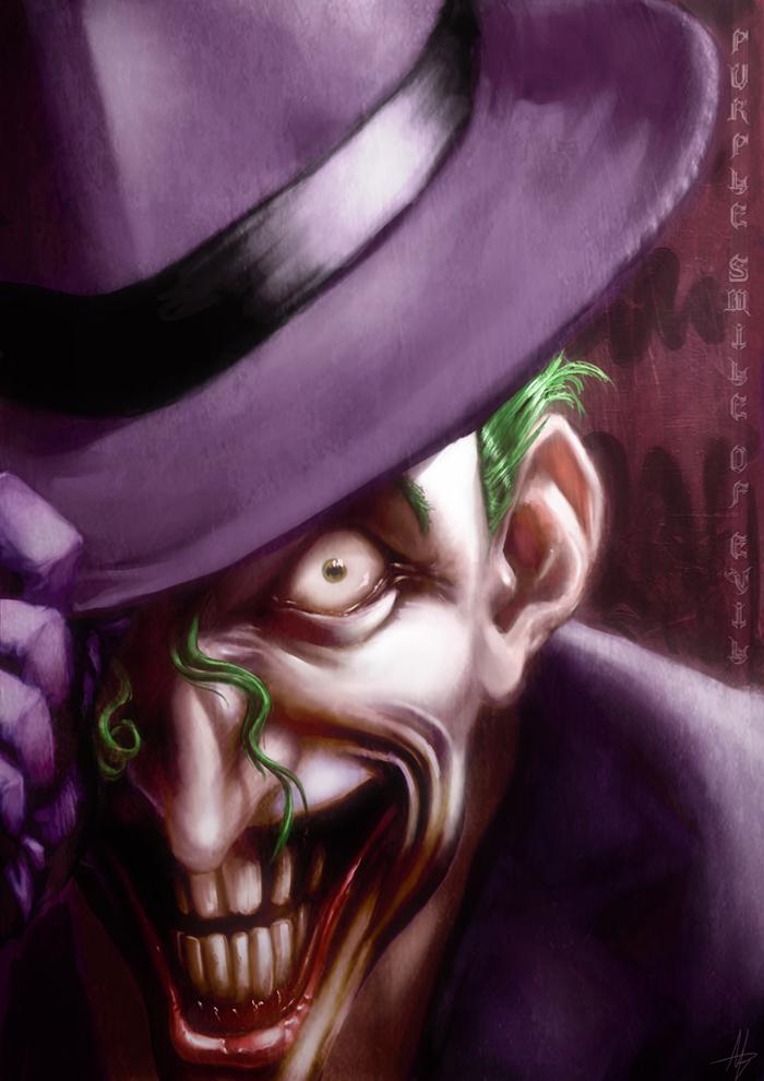 Tournoi des Personnages Préférés DC Comics (on vote pour nos persos préférés, on ne se base pas sur la force) - Page 11 Joker_by_lehuss