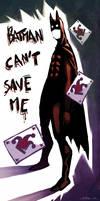 batman can't...