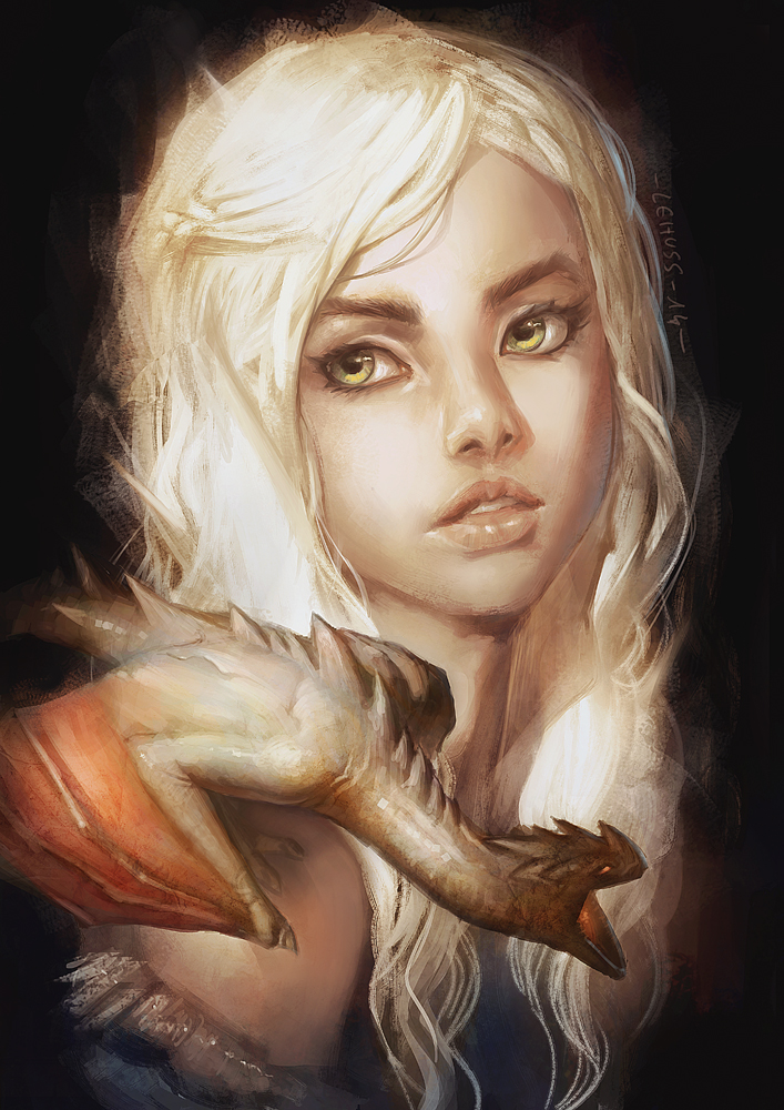 Mother of dragons Daenerys