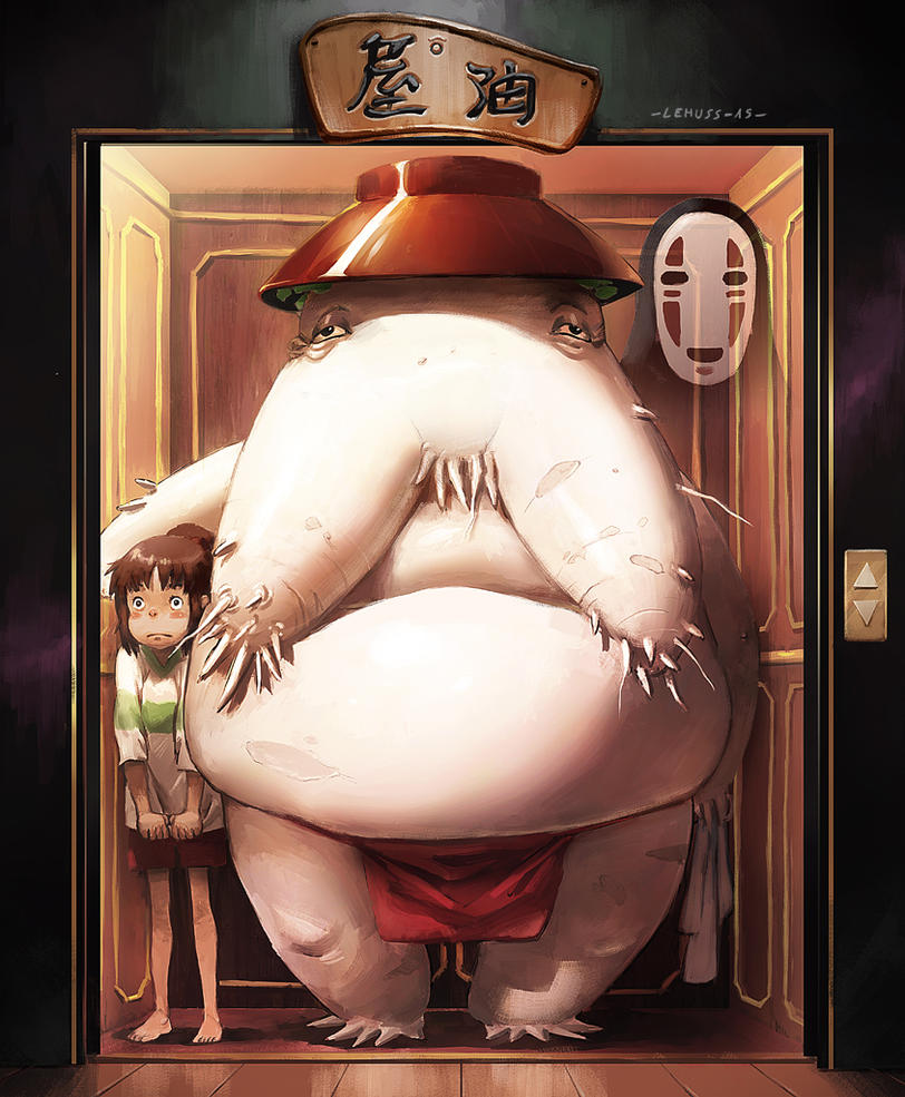 :Spirited Away fanart: by lehuss